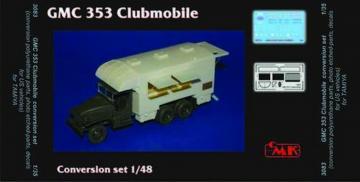 GMC 353 Clubmobile - Conversion set · CMK 3083 ·  CMK · 1:35