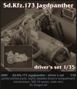 Sd.Kfz. 173 Jagdpanther - Driver set · CMK 3085 ·  CMK · 1:35