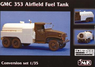 GMC 353 Airfield Fuel Tank - Conversation Set [Tamiya] · CMK 3087 ·  CMK · 1:35