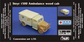 Steyr 1500 Ambulance - Wood cab conversion set · CMK 3092 ·  CMK · 1:35