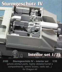 StuG IV - Interior set [Dragon] · CMK 3105 ·  CMK · 1:35