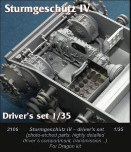 StuG IV - Driver Set [Dragon] · CMK 3106 ·  CMK · 1:35