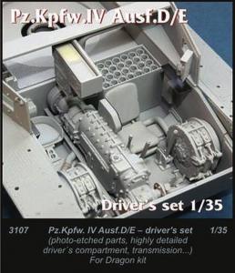 Pz.Kpfw. IV Ausf. D/E [Dragon] · CMK 3107 ·  CMK · 1:35
