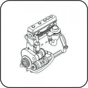 Praga TNHPS Tank - Engine · CMK 3112 ·  CMK · 1:35