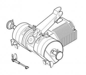 Sd.Kfz. 138/1 Grille - Transmission set · CMK 3120 ·  CMK · 1:35