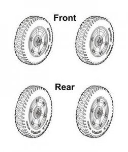 Autoblinda AB.43/Pz.Sp.Wg.AB.203 (i) correction wheels set · CMK 3126 ·  CMK · 1:35