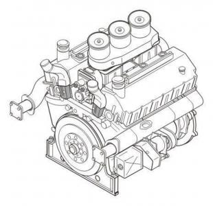 Maybach HL 230 P45 - German tank engine · CMK 3128 ·  CMK · 1:35
