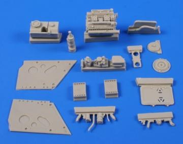 Jagdpanther - Engine Set [Tamiya] · CMK 3131 ·  CMK · 1:35