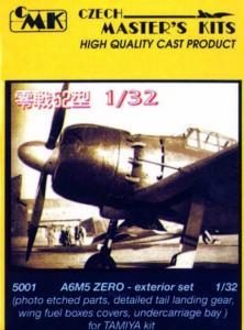 A6M5 Zero - Exterior set · CMK 32501 ·  CMK · 1:32
