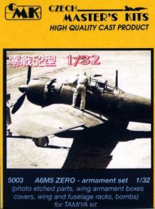 A6M5 Zero - Armament set · CMK 32503 ·  CMK · 1:32