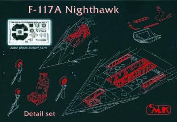 F-117A - Detail set [Tamiya] · CMK 4127 ·  CMK · 1:48