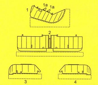Fairey Swordfish - Control surfaces · CMK 4163 ·  CMK · 1:48
