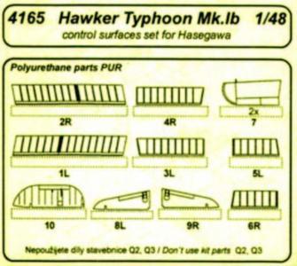 Hawker Typhoon Mk.Ib - Cockpit · CMK 4165 ·  CMK · 1:48