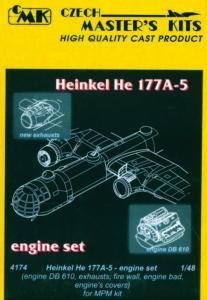 Heinkel He 177 A - Motor [MPM] · CMK 4174 ·  CMK · 1:48