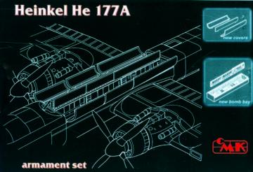 Heinkel He 177 A - Arnament set [MPM] · CMK 4175 ·  CMK · 1:48