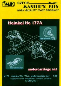Heinkel He 177 A - Undercarriage [MPM] · CMK 4176 ·  CMK · 1:48