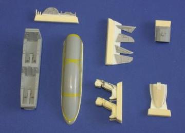 JAS-39D Gripen  - Interior [Italeri] · CMK 4198 ·  CMK · 1:48