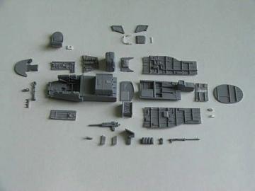 Ki-45 Toryu - Interior [Hasegawa] · CMK 4206 ·  CMK · 1:48