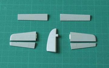 Hawker Seahawk - control surfaces set [Trumpeter] · CMK 4212 ·  CMK · 1:48