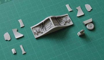 Hawker Seahawk - Undercarriage set [Trumpeter] · CMK 4213 ·  CMK · 1:48
