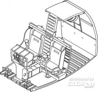 OH-6 Cayuse - Interior set · CMK 4268 ·  CMK · 1:48