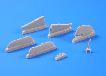 P39-D,F,K,M,N,Q Airacobra - Control surfaces set · CMK 4277 ·  CMK · 1:48