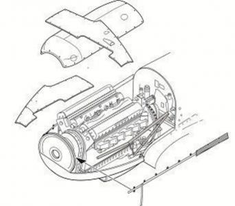 Spitfire Mk.I - Engine set [Tamiya] · CMK 4282 ·  CMK · 1:48