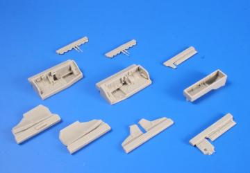 JAS-39A/C Gripen-- Undercarriage set [Kitty Hawk] · CMK 4301 ·  CMK · 1:48