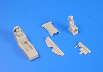 JAS-39A/C Gripen - Interior set [Kitty Hawk] · CMK 4303 ·  CMK · 1:48
