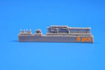 Browning 303 Mk II-British WWII Aircraft Machine Gun 7,7mm/Fixed type (6 Stück) · CMK 4334 ·  CMK · 1:48