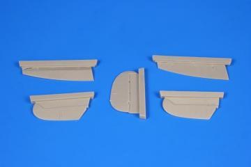 Spitfire Mk.I - Control Surfaces [Airfix] · CMK 4337 ·  CMK · 1:48