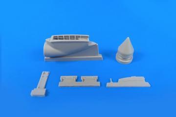 BAC Lightning - Front undercarriage bay Set · CMK 4344 ·  CMK · 1:48