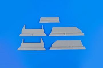 BAC Lightning F1/F1A/F2/F3 - Control Surface Set · CMK 4346 ·  CMK · 1:48