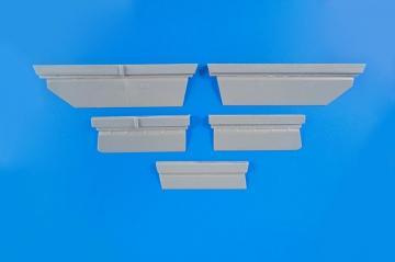 BAC Lightning F2A/F6 - Control Surfaces Set · CMK 4349 ·  CMK · 1:48