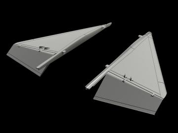 JA-37 Viggen - Canard correction set [Special Hobby] · CMK 4362 ·  CMK · 1:48
