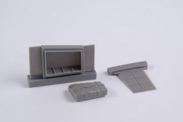 Beaufighter Mk.IF - Dinghy Box and Access Panel [Revell] · CMK 4367 ·  CMK · 1:48