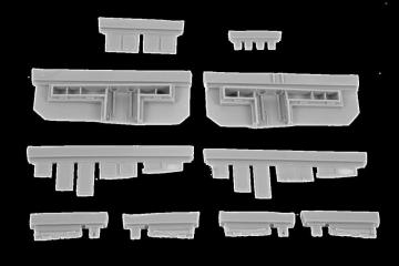 N1K2-J Shiden Kai (George) - Armament set · CMK 4375 ·  CMK · 1:48