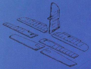 Me-410B - Control surfaces · CMK 48006 ·  CMK · 1:48