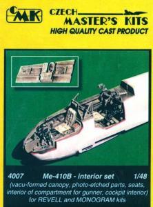 Me-410B  - Interior set · CMK 48007 ·  CMK · 1:48