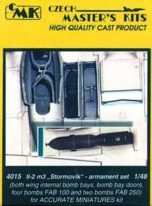 Il-2m3 Stormovik - Armament set · CMK 48015 ·  CMK · 1:48