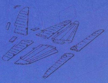 Il.-2m3 Stormovik - Control surfaces · CMK 48016 ·  CMK · 1:48