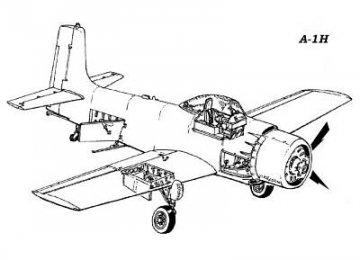 A-1H Skyraider - Detail set · CMK 48017 ·  CMK · 1:48