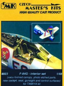 F-84G Thunderjet - Interior set · CMK 48023 ·  CMK · 1:48