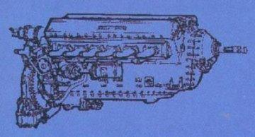 RR Merlin - Motor Mosquito · CMK 48038 ·  CMK · 1:48