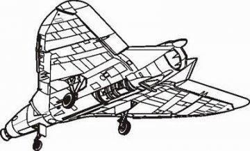 F4D-1 Skyray · CMK 48041 ·  CMK · 1:48