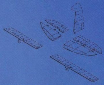 D3A-1 - Control surfaces · CMK 48054 ·  CMK · 1:48