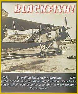 Swordfisch Mk.III ASV radarplane - - Umbauset · CMK 48063 ·  CMK · 1:48