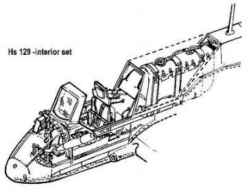 Henschel Hs 129 - Interior set · CMK 48066 ·  CMK · 1:48