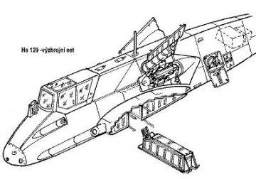 Hs-129B  - Armament set · CMK 48067 ·  CMK · 1:48