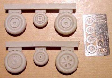 Mig-21 PF/MF/bis - Wheels · CMK 48076 ·  CMK · 1:48